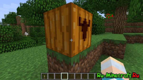 [1.7.10/1.7.2/1.6.4] Pumpkin Carvier - Декоративная обрезка тыкв!