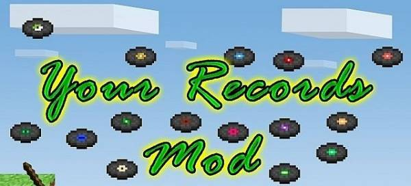 [1.6.4-1.7.10] Your Records Mod - Сделай пластинку сам