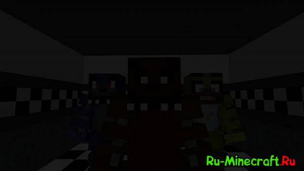 [Map][1.8] Five Nights at Freddy's - Страшные куклы!