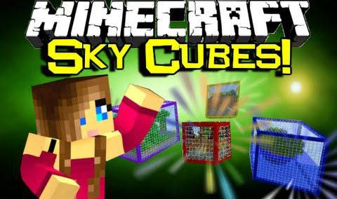 [Map][1.7.10] Sky Cubes Survival - Небесное выживание в кубах!