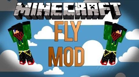 Fly Mod - летай не в креативе [1.12.1] [1.11.2] [1.8] [1.7.10] [1.6.4]