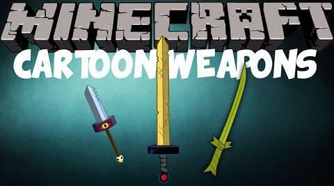 [1.7.10] Cartoon Weapons — Мечи из аниме и мультфильмов?