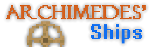 Archimedes' Ships [1.12.2] [1.7.10] [1.7.2] [1.6.4] [1.6.2] [1.5.2]