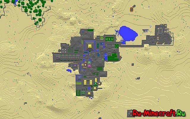 Скачать Карту Big City для Minecraft