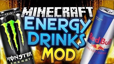 [1.7.10] Energy Drinks Mod - Зарядись энергией!