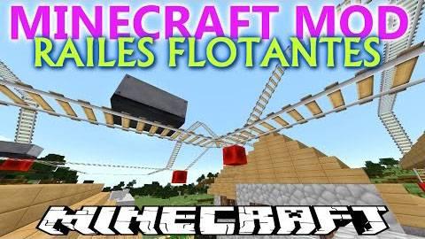 Floatable Rails Mod - Летающие рельсы [1.8|1.7.10|1.6.4|1.6.2]