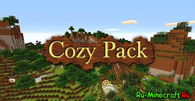 [1.8][8x] Cozy Pack — Очень простые текстуры