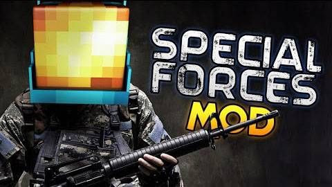 [1.7.10] Special Forces Mod - крутые пушки!