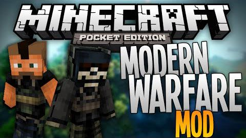 [MC:PE][0.9.5] Modern Warfare Mod for MCPE - Современное оружие!