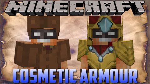 Cosmetic Armor - броня [1.12.2] [1.11.2] [1.10.2] [1.9.4] [1.8.9] [1.7.10]