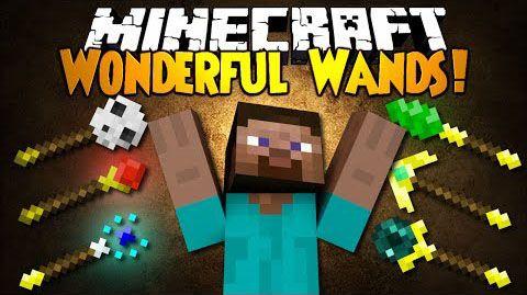 [1.8] Wonderful Wands Mod - Волшебные палочки