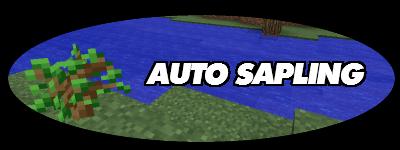 Auto Sapling - Авто высадка деревьев [1.11.2|1.10.2|1.9.4|1.8.9|1.7.10]