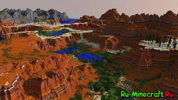 [Карта][1.7.9-1.7.2] Lands of Luvem - красивая карта