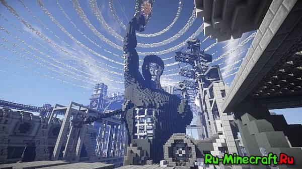[Map] BlockWorks Inc. — Гигантский город