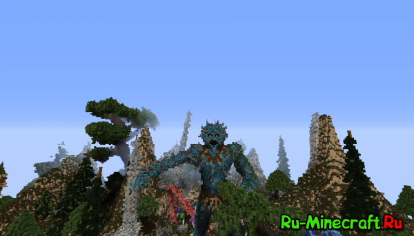 [Карта] Elessar the forest palace - какой-то там лесной дворец