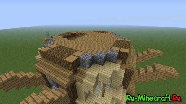 [Guide] Строим прекрасную ветровую мельницу! - строительство, 1 часть