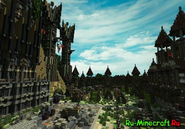 [Карта][1.8+] Delithons Keep — Огромная крепость!