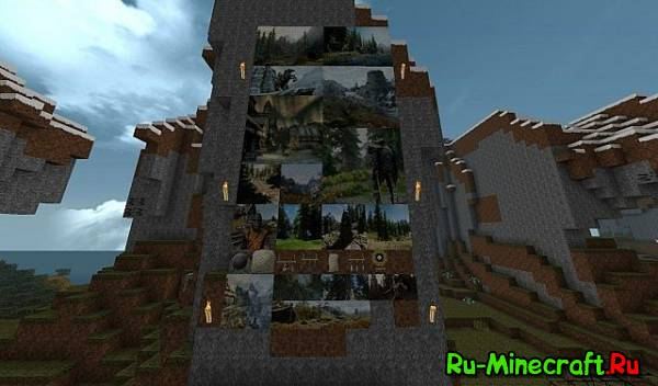 [1.8/1.9.4][32px] Zombie's Skyrim Resource Pack - ресурспак по TES