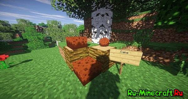 [1.8][16x] Edited Food Resource Pack - Ресурспак для еды