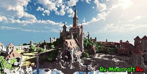 [MAP] Terados SkyLand - небесный город!