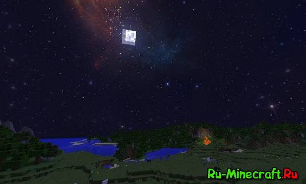 [1.8][32x32] Custom Sky Space Edition - Новый вид неба!