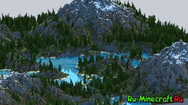 [Map][1.8+] Adryns River — Красочный пейзаж!