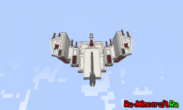 [Карты][1.8] Barracuda Heavy starfighter - Гиганский Истребитель Из Будущего
