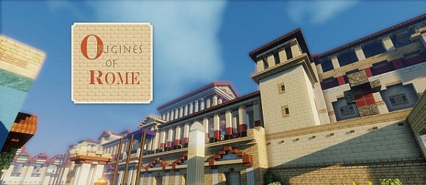 [1.8][32px] Origines of Rome - Римские текстуры!