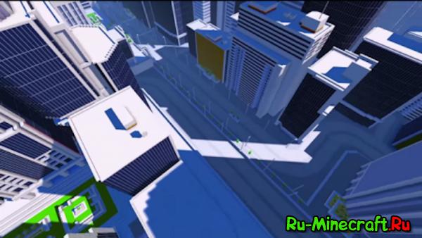[Map+Resourcepack] Edgecraft - Mirrors Edge в Minecraft