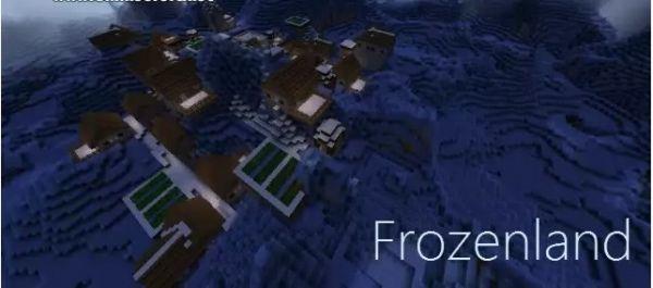 Frozenland mod [1.7.10] [1.7.2] [1.6.4]