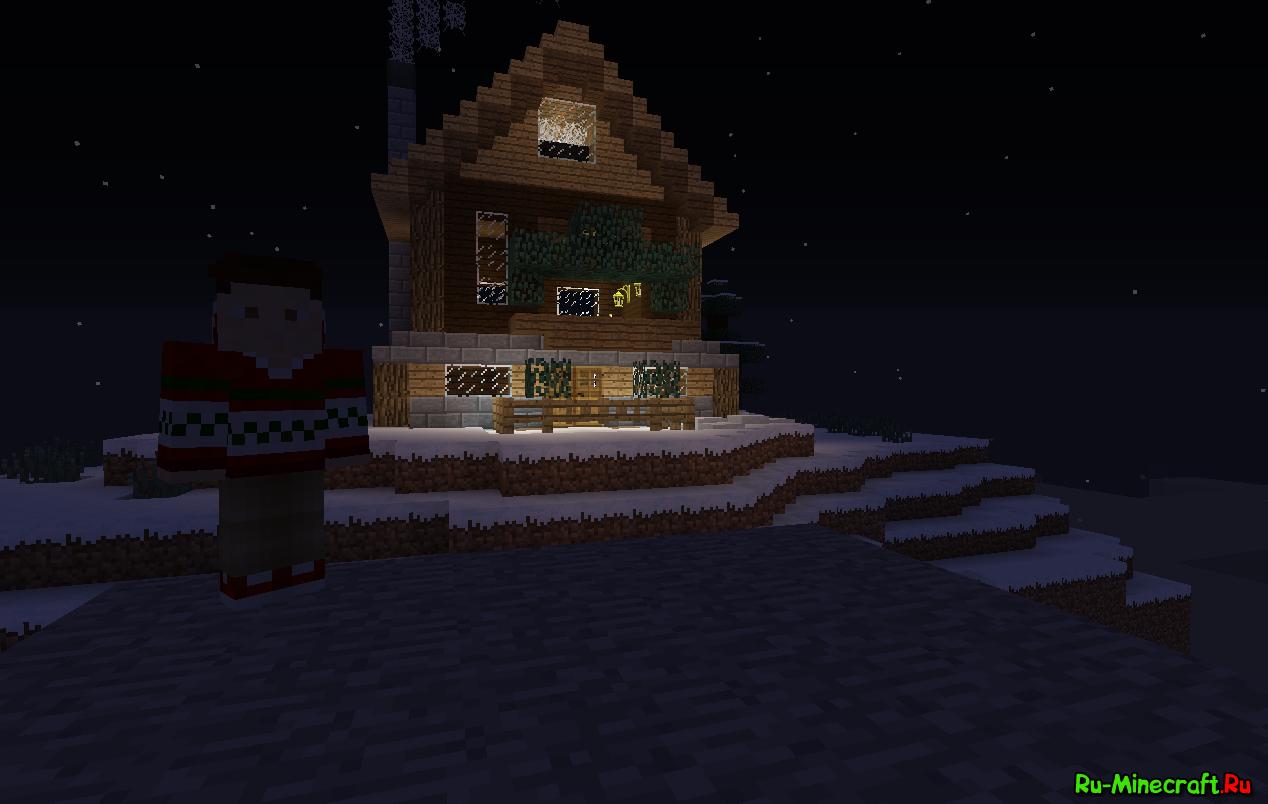 скачать карту с красивым домом в minecraft #10