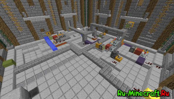 [Карта][1.8+] Редстоун-мастер. Minecraft