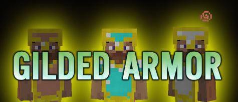 [1.7.10] Gilded Armor Mod - Позолоченная броня!
