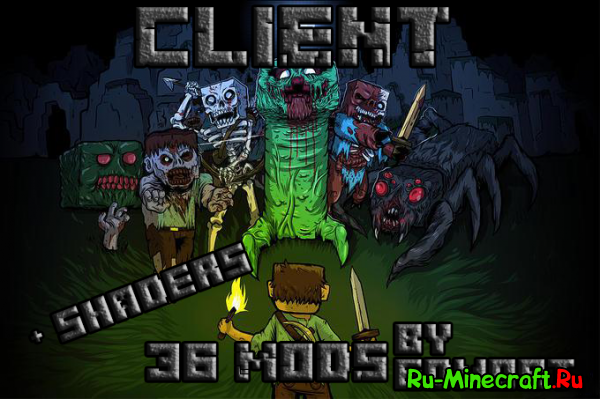 [Client][1.7.10] Солянка Client by Edmort. 36 mods!