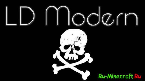 [1.8]LD Modern Resource Pack - современные текстуры!