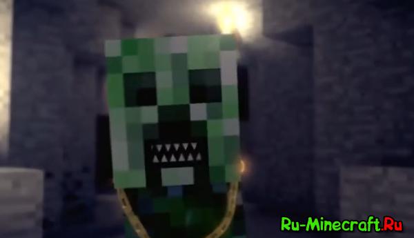 [Видео] Creeper Rap - Рэп зелёного...