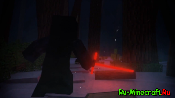 [Видео] StarWars: Episode VII - The Block Awakens (Minecraft Teaser Parody) - By CreeperShow
