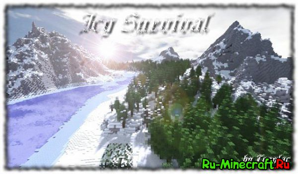 [Map] Icy Survival - зимаааа