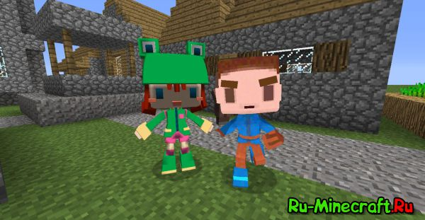 [1.7.10-1.8] The Rediscovered Mod - вернём прошлое в minecraft!