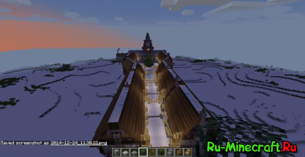 [Map] Winter Village - зимняя деревня