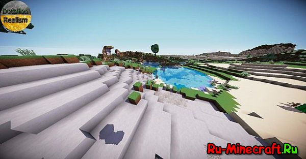 [1.8.1][256x] Detailed Realism Resource Pack - реализмъ