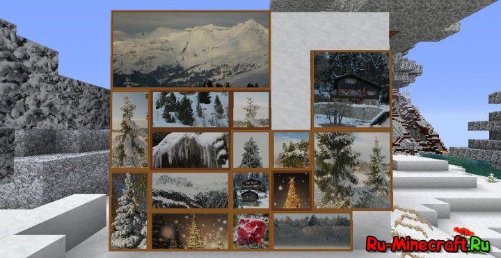Zedercraft Winter HD — зимний пакет ресурсов [1.11.21.8.1][256x/128x]