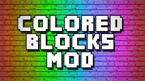 [1.7.10] Color Blocks 2 - Палитра!