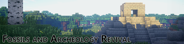 [1.7.10] Fossils and Archeology Revival - большой мод