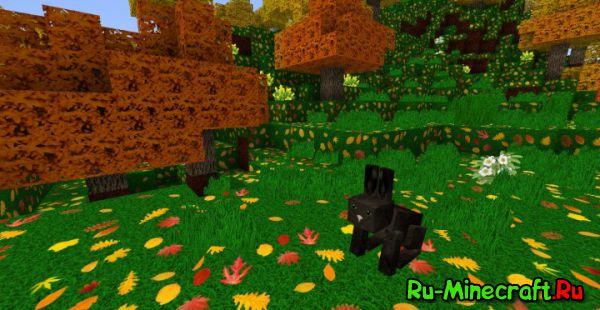 Zedercraft Autumn HD - Осенняя пора [1.13.1] [1.13] [256x]