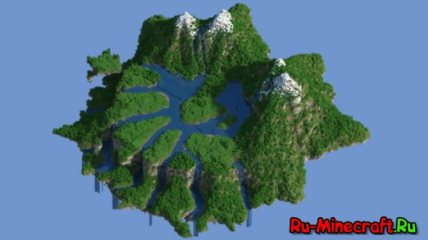 [Map] Floating Hub Terraform — Летающий остров