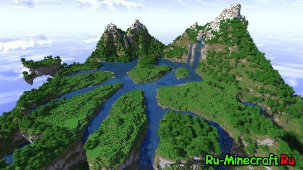 [Map] Floating Hub Terraform — Летающий остров
