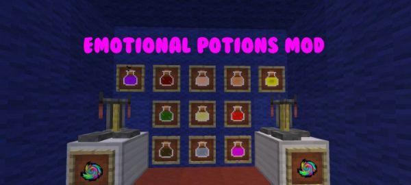 [1.7.10] Emotional Potions Mod — Новые зелья!