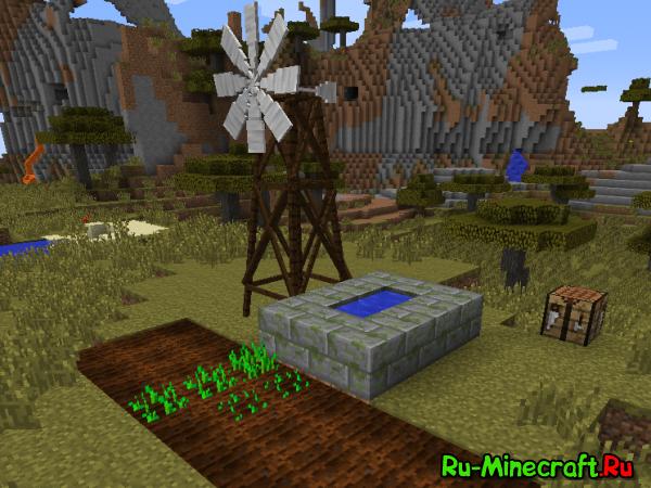 [1.7.10] Multi-Windmills - Ветряные мельницы