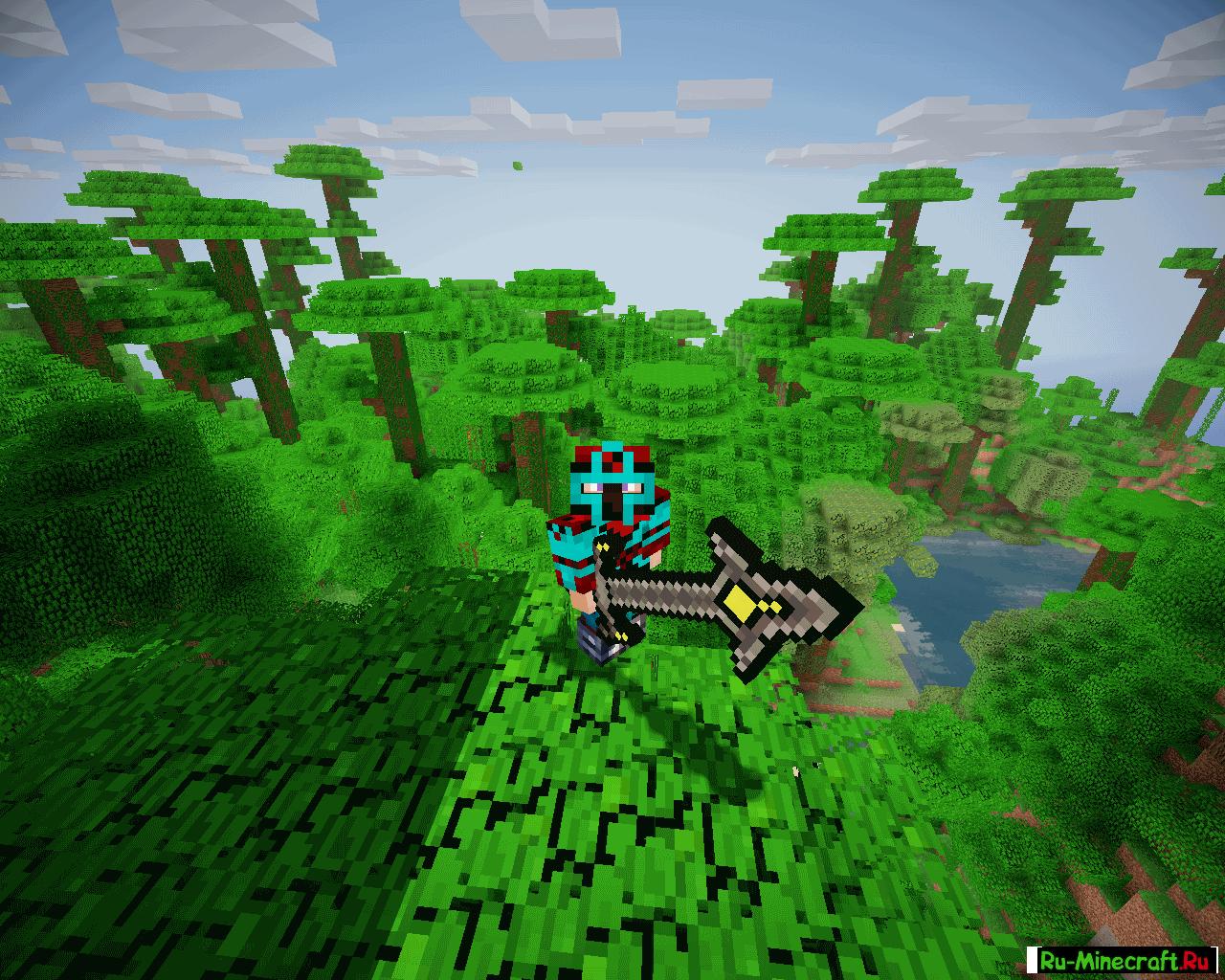 Скачать Divine RPG 1.7.10 для Minecraft + обзор мода